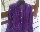 Touch Me Glitz Hand Knit Original Sweater