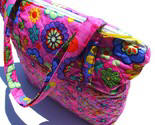 Large Zipper Tote or Girls Overnight Bag