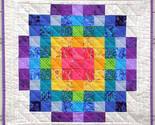 Rainbow Magic, Beautiful Art Quilt Wallhanging