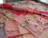 Sugar and Spice Flannel Rag Quilt
